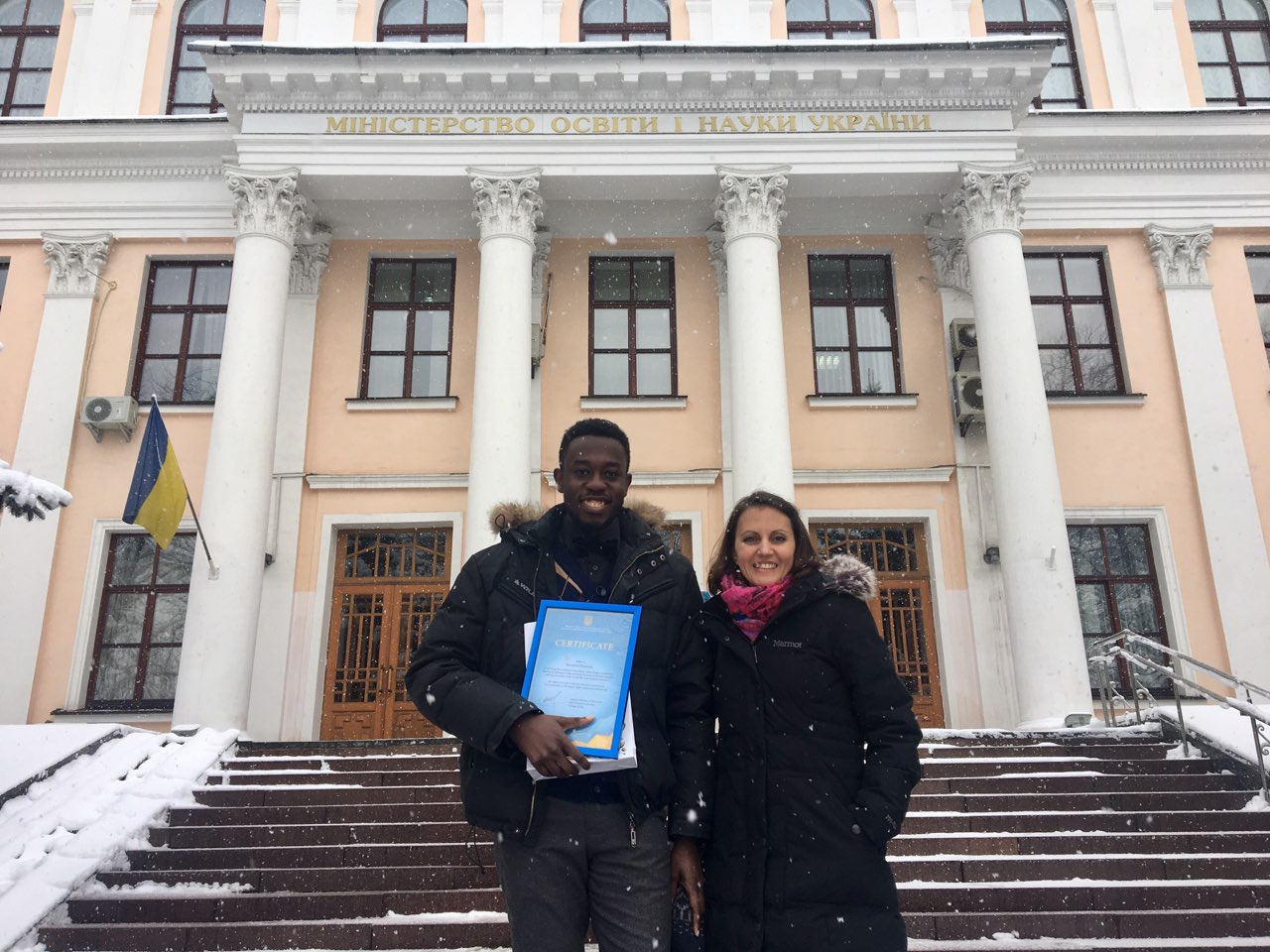 students about study in Ukraine
