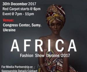 First African Fashion Show in Ukraine
